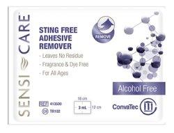 WIPE ADH REMOVER SENSI-CARE STING FREE N/STR