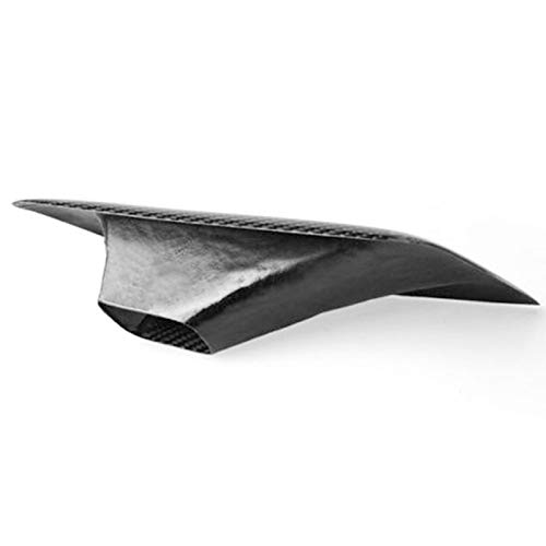 Semoic Left Car Vent Intake Vent Intake Air Duct Professional Auto Vent Intake for Real Carbon Fiber for 350Z 03-2009