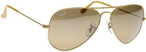 Rayban RB 3025 091/3K Metal Yellow Matte - Ban Yellow Ray Sunglasses