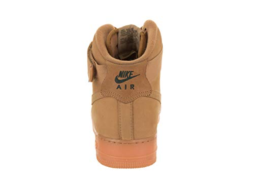 High WB Flax Nike Green Men's Force 1 Outdoor Li Basketball Shoe Gum LV8 Air Flax '07 TTFpRW0a