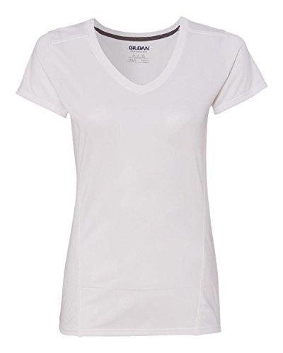 GILDAN - Camiseta - para mujer blanco