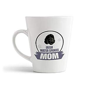 Ceramic Custom Latte Coffee Mug Cup Mom Irish Water Spaniel Dog Tea Cup 12 Oz Design Only 41