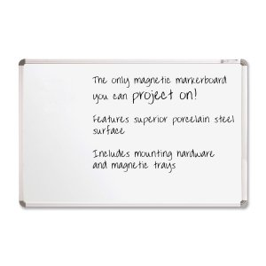 Plus Markerboard (Balt Projection Plus Markerboard - 8' x 4' - Gray)