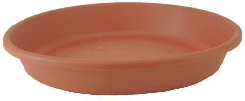(Akro Mils SLI14000E35 Classic Saucer for 14-Inch Classic Pot, Clay Color, 13.88-Inch)