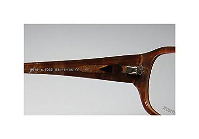 ProDesign Denmark 5615 Mens/Womens Rxable Newest Season Designer Full-rim Eyeglasses/Glasses