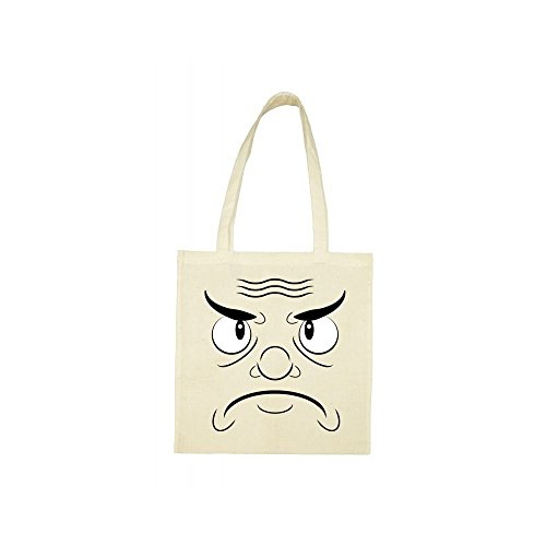 mchant Tote bag bag visage Tote beige dnwz0a0Yq