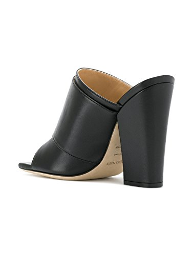 À A80510MNAN071000 Talons Chaussures Femme Noir Sergio Rossi Cuir xnPwWOqnFB