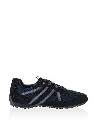 Geox U Snake S - Zapatillas Hombre Azul Marino