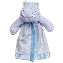 Little Sleepy Head Snuggler Lovey Security Blanket (Hippo)