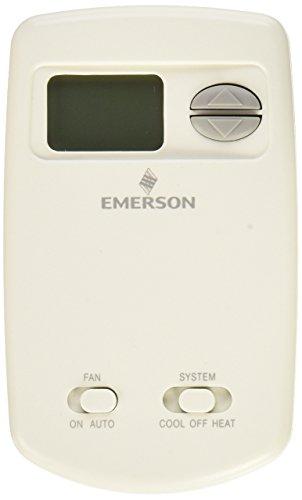 Emerson 1F78-144 Digital Heat/Cool Thermostat, Vertical