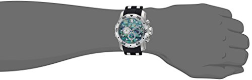 Invicta Men s Pro Diver Stainless Steel Quartz Watch with Polyurethane Strap, Black, 26 Model 24838