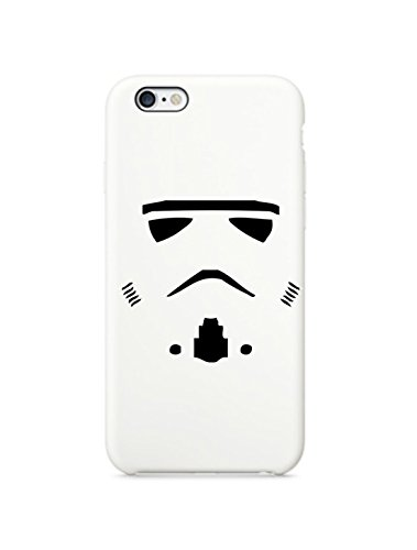 Costume Gun Stories (Star Wars Stormtrooper Face iPhone 6 White Case Cover Skin (White))