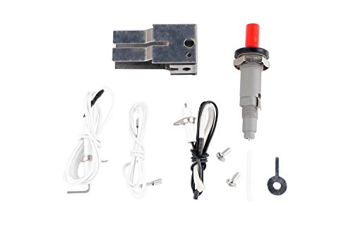 Wadoy Gas Grill Piezo Igniter BBQ Ignitor Kit Replacement Parts for 20610 Universal Fit Push Button Igniter