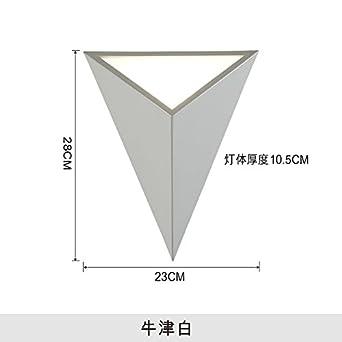 SISANLAI Lampe de Mur Haut Bas applique murale géométrie ...