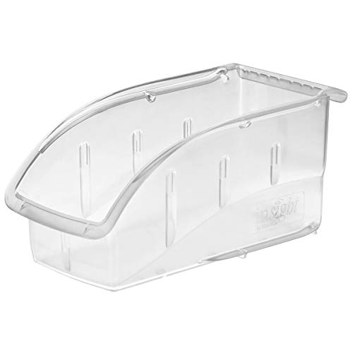 - Akro-Mils 305B1 Insight Ultra-Clear Plastic Hanging and Stacking Storage Bin, 10-7/8-Inch Long by 5-1/2-Inch Wide by 5-1/4-Inch Wide, Case of 12