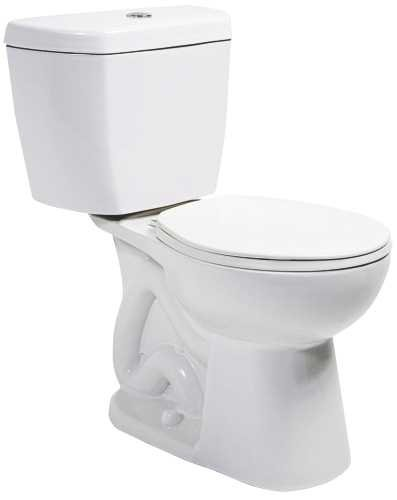 NIAGARA CONSERVATION N7799 283551 0.8 gpf Stealth Watersense High-Efficiency Elongated Toilet Bowl with Rear Outlet, - Outlets Niagara