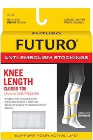 Futuro Anti Embolism Length Stockings Large