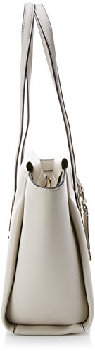 Shopper Cement Medium Frame Blanc Cabas Calvin Klein aZTtxt