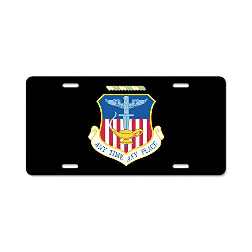 U.S. Air Force 16th Special Operations Wing Metal Black License Plates, Personalized Custom Plates for Car Decoration 6 inch x 12 inch US Standard