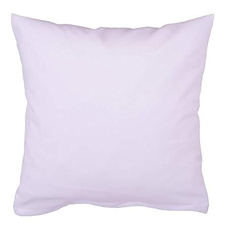 Almohada de linón de algodón blanco Agua hirviendo cremallera funda de cojín, hipoalérgica, sin sustancias nocivas, fabricado en Europa., algodón, ...