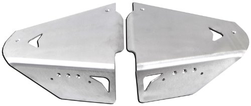 - Pro Armor P091024 Brushed Aluminum Rear A-Arm Armor Guards