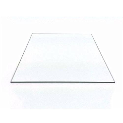 130mm x 130mm x 3mm Borosilicate Glass Plate for Mini 3D Printer Glass Bed (130x130x3mm Square)