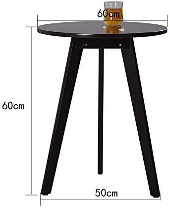 Koel Bijzettafeltjes Hair Moderne kleine ronde tafel, pijnboom driehoekige voet sofa voor woonkamer slaapkamer balkon  XN4HayJ
