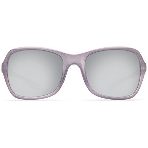 Shiny Silver Crystal Mirror Sea Costa Kare Womens Lavender 7wcE1Y