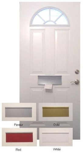 Magnetic Mail Slot Cover - GOLD by Battic Door