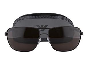 Emporio Armani EA 2033 Sunglasses Brown w/Brown Lens 3132/73 EA2033 For Men