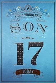 For A Wonderful Son On Your 17th Birthday Card