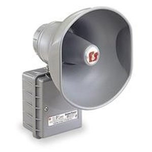 1- 300GC-120 FEDERAL SIGNAL SELECTONE, HORN SIREN SPEAKER, 120V Single Projector Vibrating 300GC 120 by Federal Signal