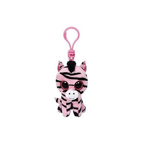 Ty Beanie Boo Boos 3 Key Clip Zoey the Zebra