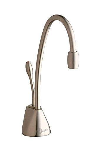 InSinkErator F-GN1100SN Indulge Contemporary Hot Water Dispenser Faucet, Satin Nickel (Renewed) ()