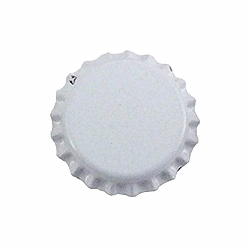 Midwest Homebrewing and Winemaking Supplies 11999 Plain White Caps (Pack of 144)