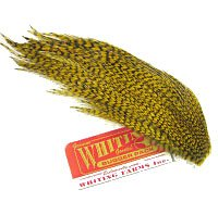 Whiting Farms Bugger Pack – dyed Natural Brown