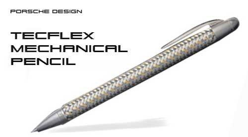 Porsche Design Tec Flex Steel and Gold Mechanical Pencil (988816) by Porsche Design