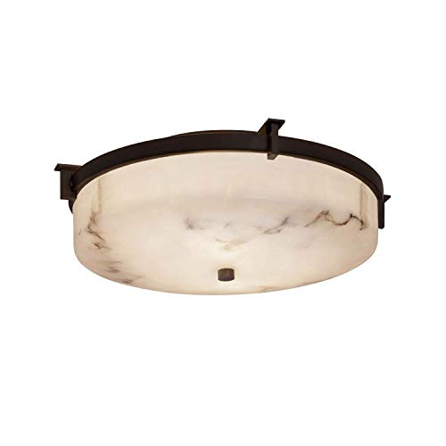 Justice Design Group Lighting FAL-8985-DBRZ LumenAria