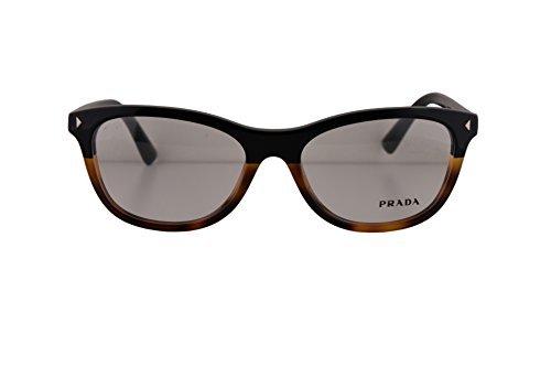 Prada PR05RV Eyeglasses 53-17-140 Black Light Havana w/Demo Clear Lens TKA1O1 VPR05R VPR 05R PR 05RV (NO BOX & NO - Case Prada Eyeglasses