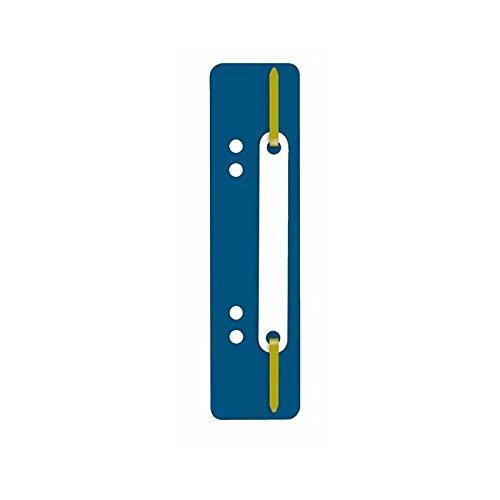 SOE–Fermafogli 3174D. blu con graffa in plastica Soennecken
