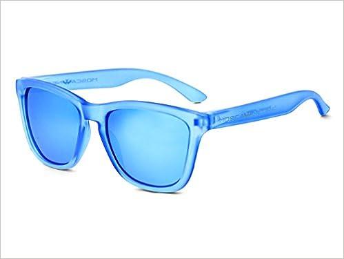 Gafas de sol MOSCA NEGRA modelo ALPHA TRANSPARENT MATTE BLUE ...