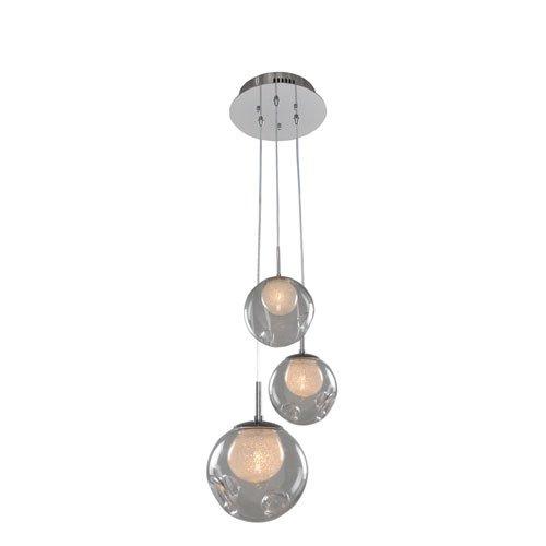 Kalco Lighting 309540CH//CLEAR 3 Light Pendant