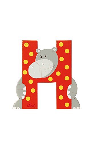 Sevi Wooden Animal Letter (H) by Sevi