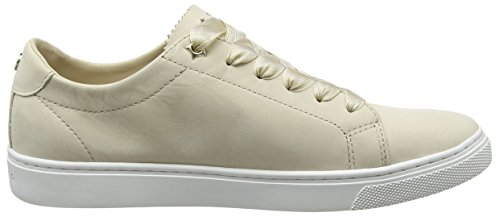 Beige Sneakers Tommy Basses Hilfiger 639 Perforated Essential Sneaker tapioca Femme T1B6xnB