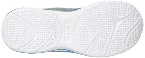 Skechers JumpinJams-Cosmic Cutie, Zapatillas Para Niñas Varios Colores (Grey/multicolour)