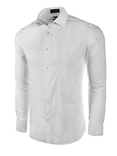 Marquis Mens Solid Dress Shirt product image