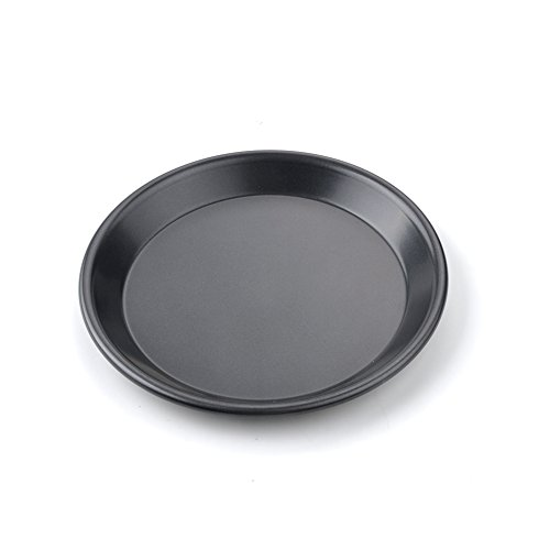 Pizza Baking Dish,Pizza Pie Baking Plate Non-Stick Aluminum Shallow Baking Mold Cook Cookware Baking Pans for Home Kitchen(7Inch,Shallow Dish)