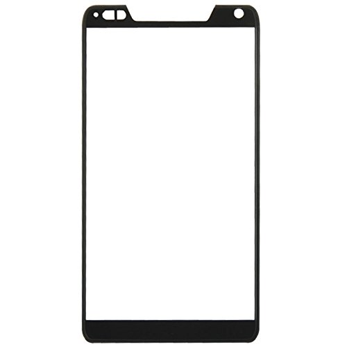iPartsBuy Front Screen Outer Glass Lens Replacement for Motorola DROID RAZR M / XT907(Black) (Razr Lcd Front)