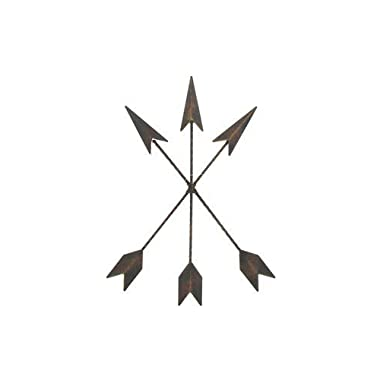 Cast Iron Native American Arrow Wall Decor