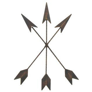 - Cast Iron Native American Arrow Wall Decor